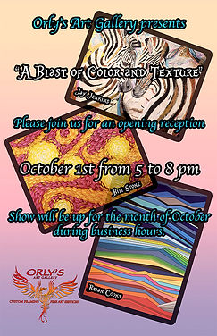 October Shows at Orly's