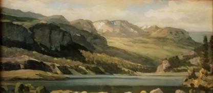 Lake San Cristobal 8x16
