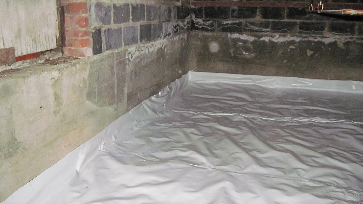 Crawl Space Floor Sealing in Baltimore