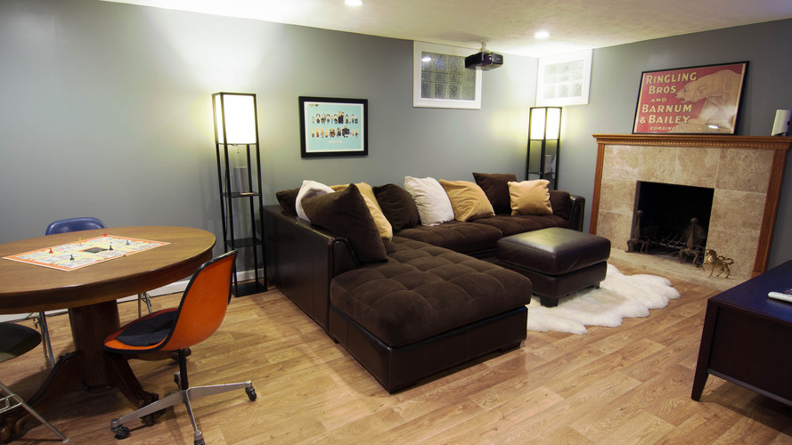 Basement Remodel in Pikesville
