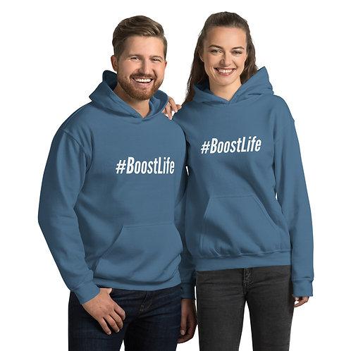 #BoostLife Unisex Hoodie