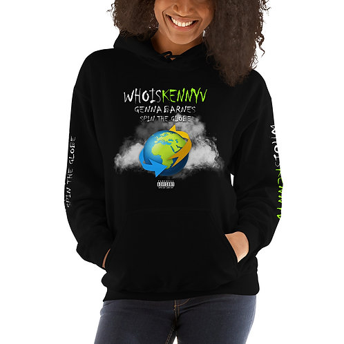 Spin The Globe Unisex Hoodie