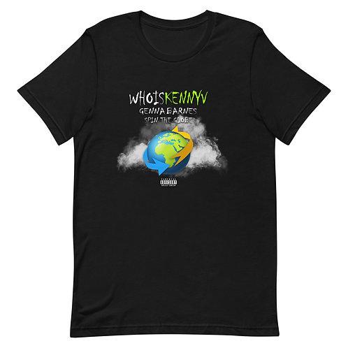 Spin The Globe Short-Sleeve Unisex T-Shirt