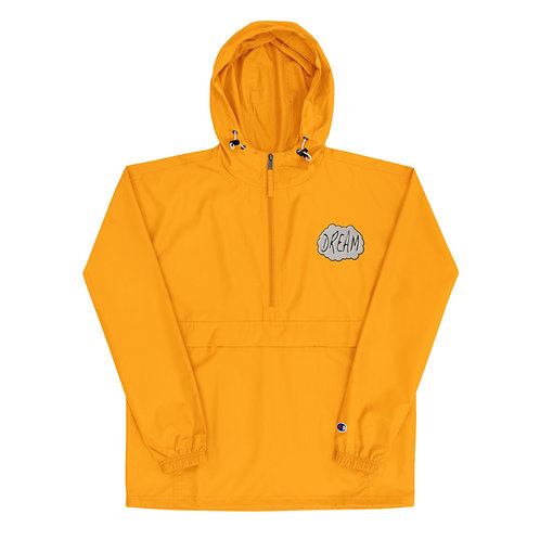 Embroidered Dream X Champion Packable Jacket