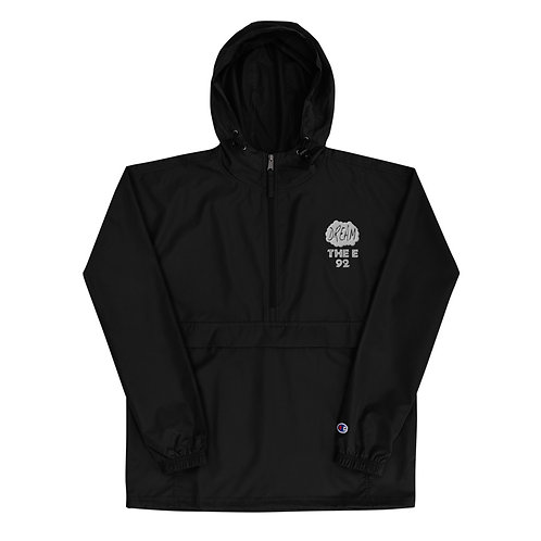 THE E | Embroidered Champion Packable Jacket
