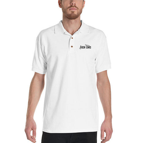 Fresh Links Embroidered Polo Shirt