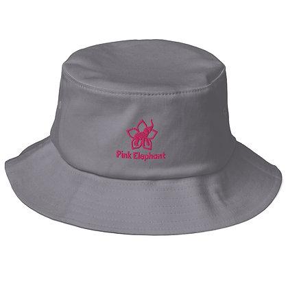 Pink Elephant | Old School Bucket Hat