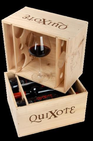 QuiXote Variatie in Woodbox