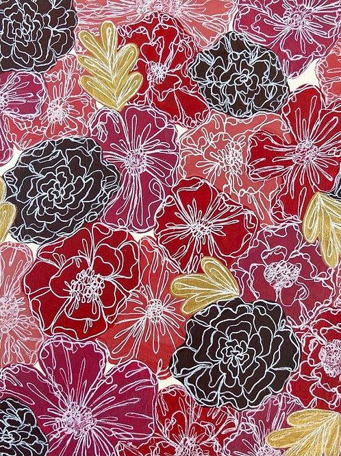 Custom Floral Canvas