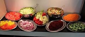 Il nostro buffet di verdure