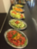 il nostro buffet di verdure fresche