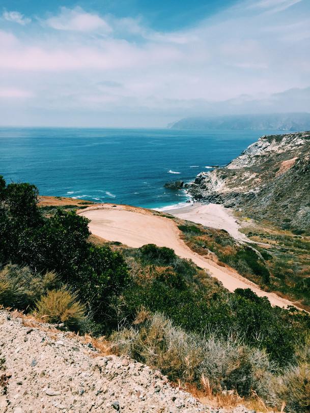 Cliffs Catalina Island