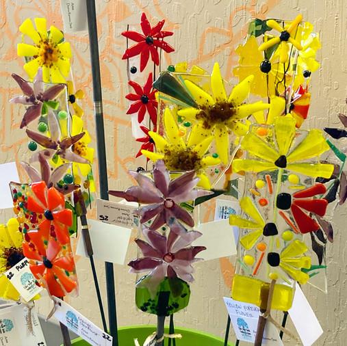 Forever Flowers Garden Art