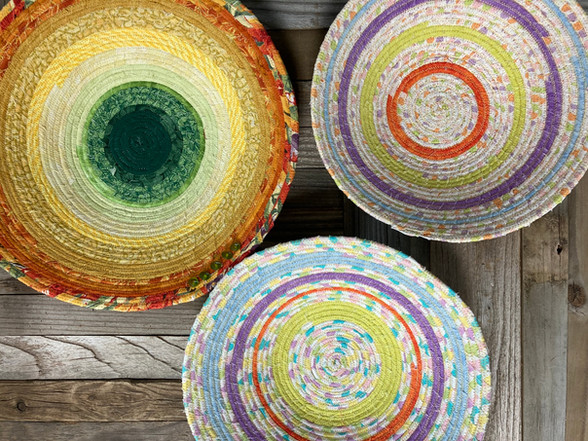 Basketry by Vivienne French