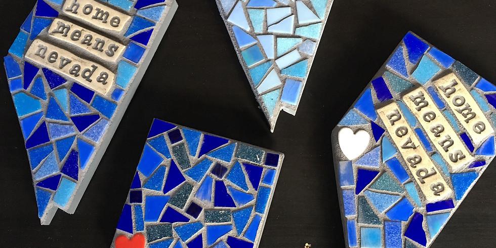 Mosaic Nevada Plaque