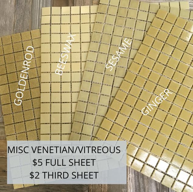 Misc Venetian & Vitreous