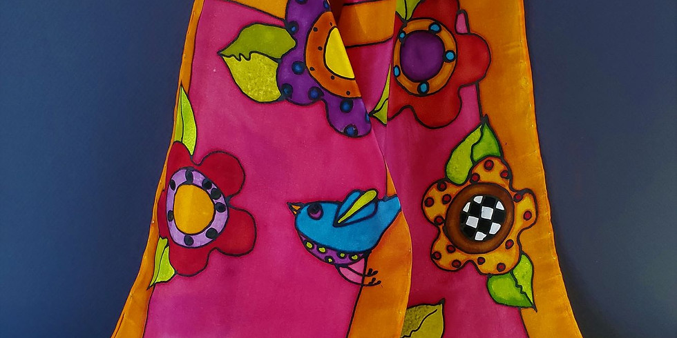 Silk Painting with Louise Noel