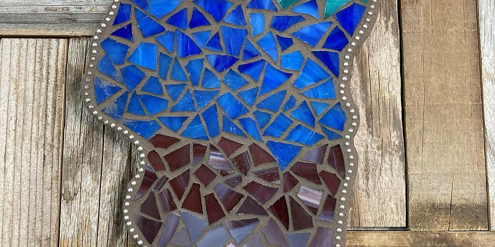 Mosaic Tahoe Plaque