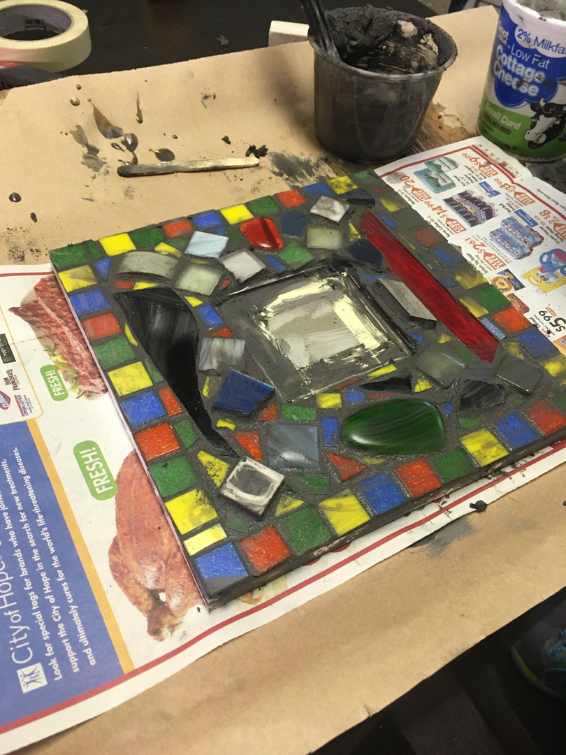 Grouting Mosaic