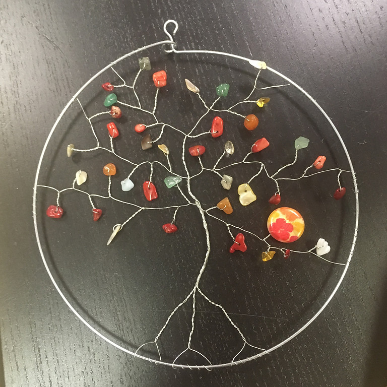 Tree of Life Wire Sculpture