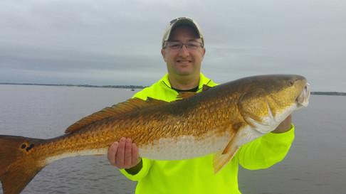 Gulf Shores Fishing: Redfish in the Bay