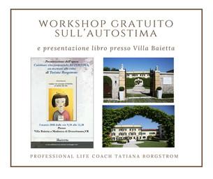 Workshop gratuito sull'autostima il 3 marzo!