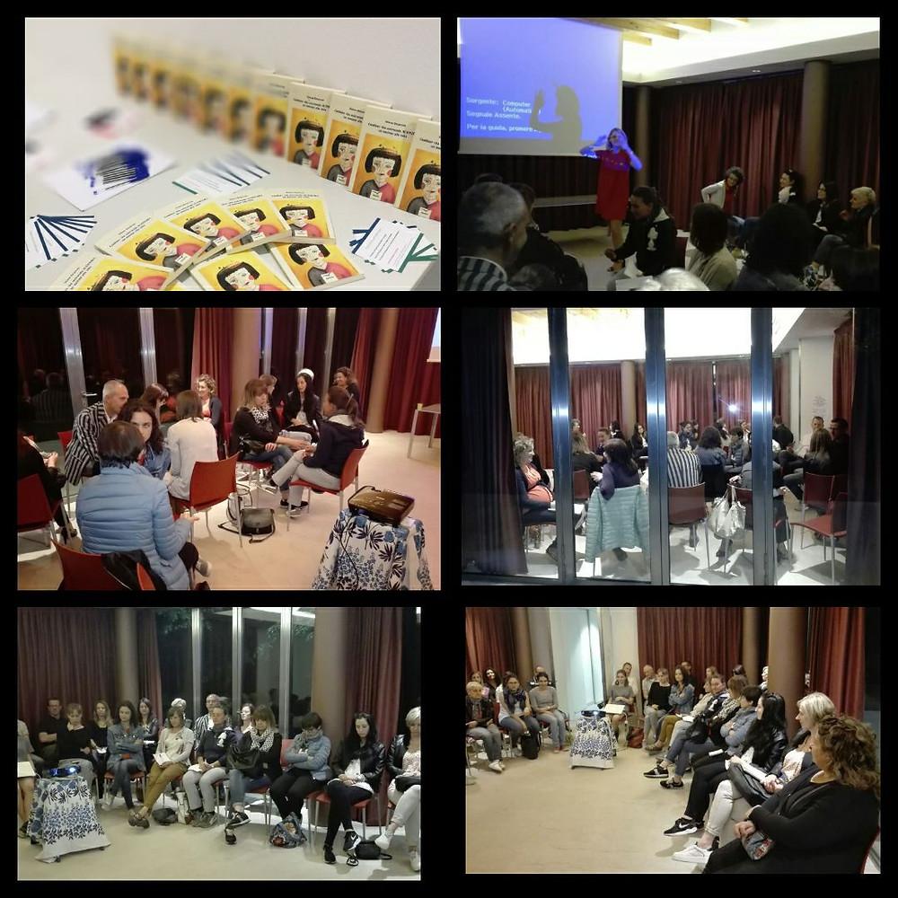 Workshop sull'autostima e presentazione libro