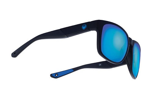 DRAGON SEAFARER X - MATTE BLACK / BLUE ION PERFORMANCE POLAR