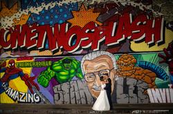 Comic-Hochzeit