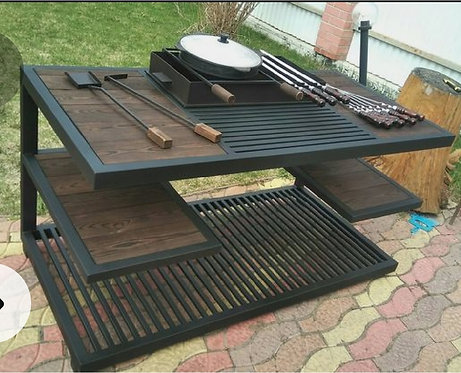 Bbq with table.