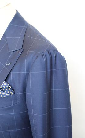 Пиджак с мягким плечом на заказ