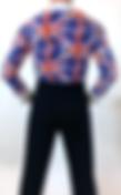фрачная рубашка-боди