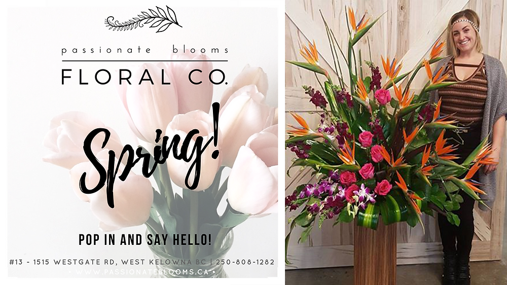 Passionate Blooms Floral Co. West Kelowna