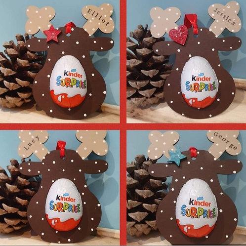 Kinder Reindeer Christmas tree decorations