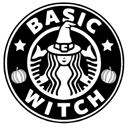 Basic witch - adult top
