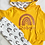 Thumbnail: Rainbow hoodie and legging set