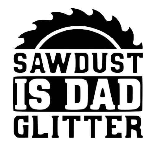 Dad Glitter Top