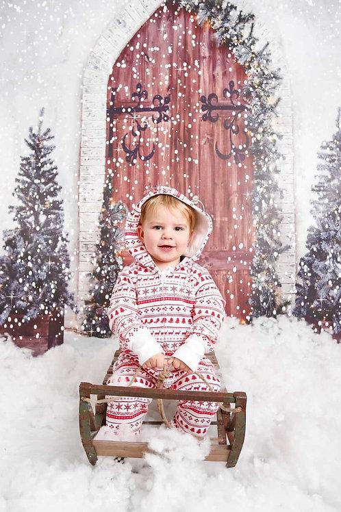 Fleece Lined Christmas Onesie -  NO CODES