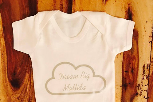 Personalised 'Dream Big' Top