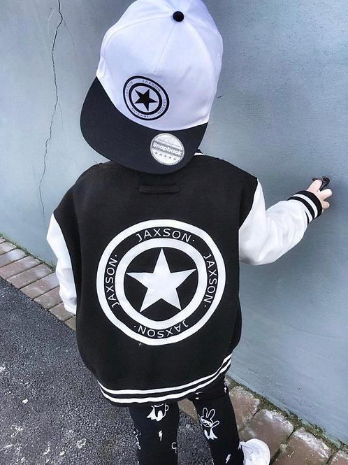 Personalised Jaxson Star Varsity Jacket