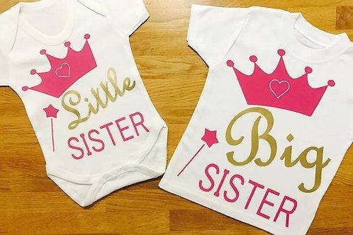 Sister 'Twinning' Tops