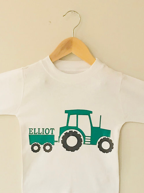 Personalised Tractor Top