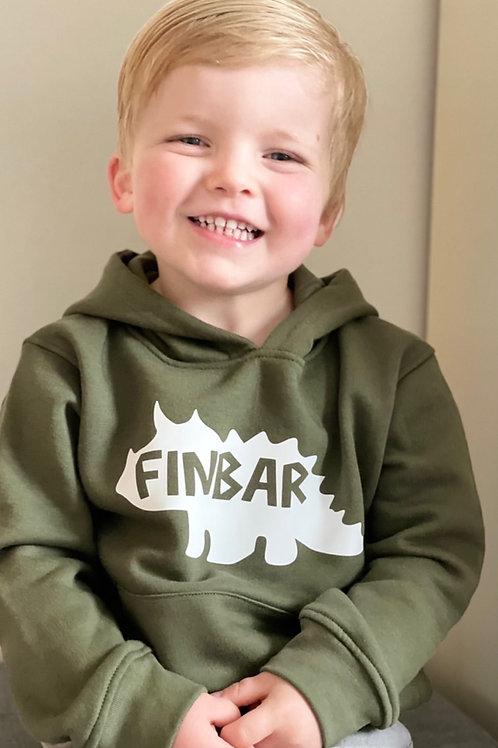 Dino name hoodie
