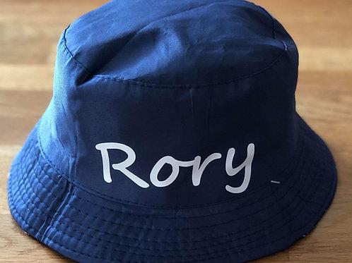 Personalised & Reversible Bucket Hat