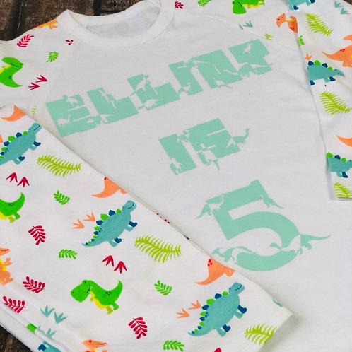 Dino pyjamas - all ages