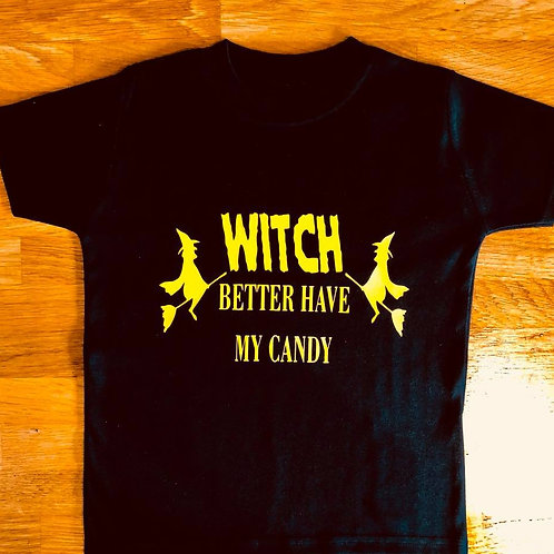 Witch Halloween Top