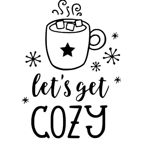 Let's get cozy - adult top