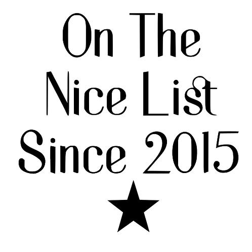 Nice list since top