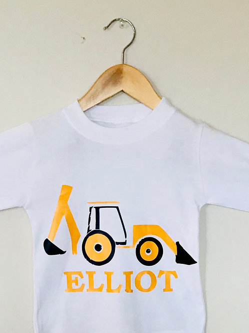 Personalised Digger Top