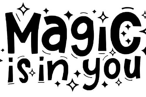 Magic is in you top